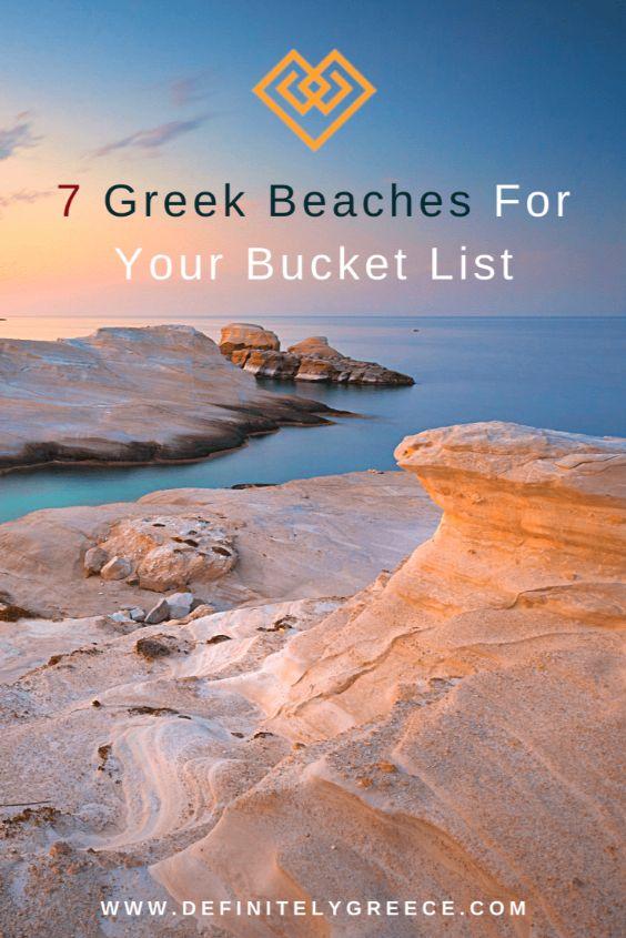 7 Greek Beaches Bucket List