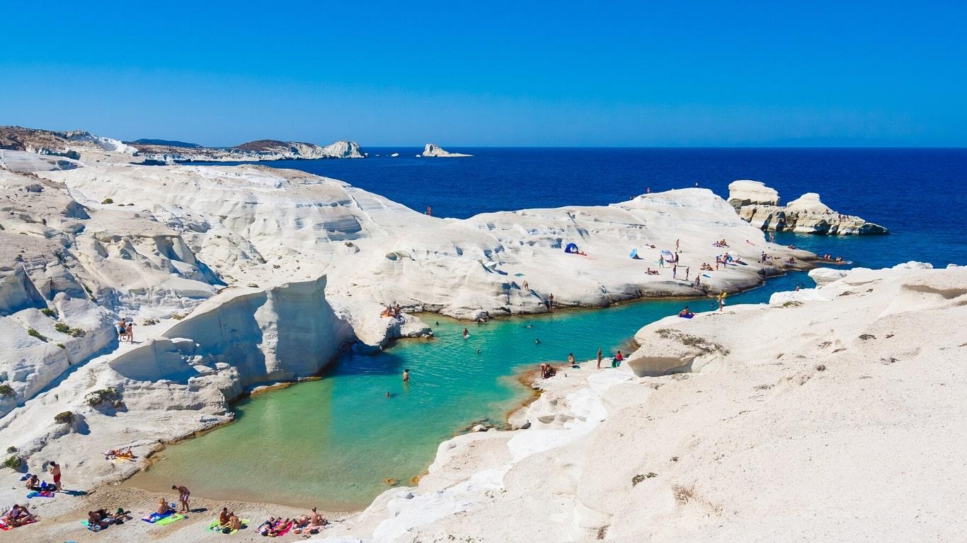 Sarakiniko Milos - Greek Beaches You Definitely Need to See