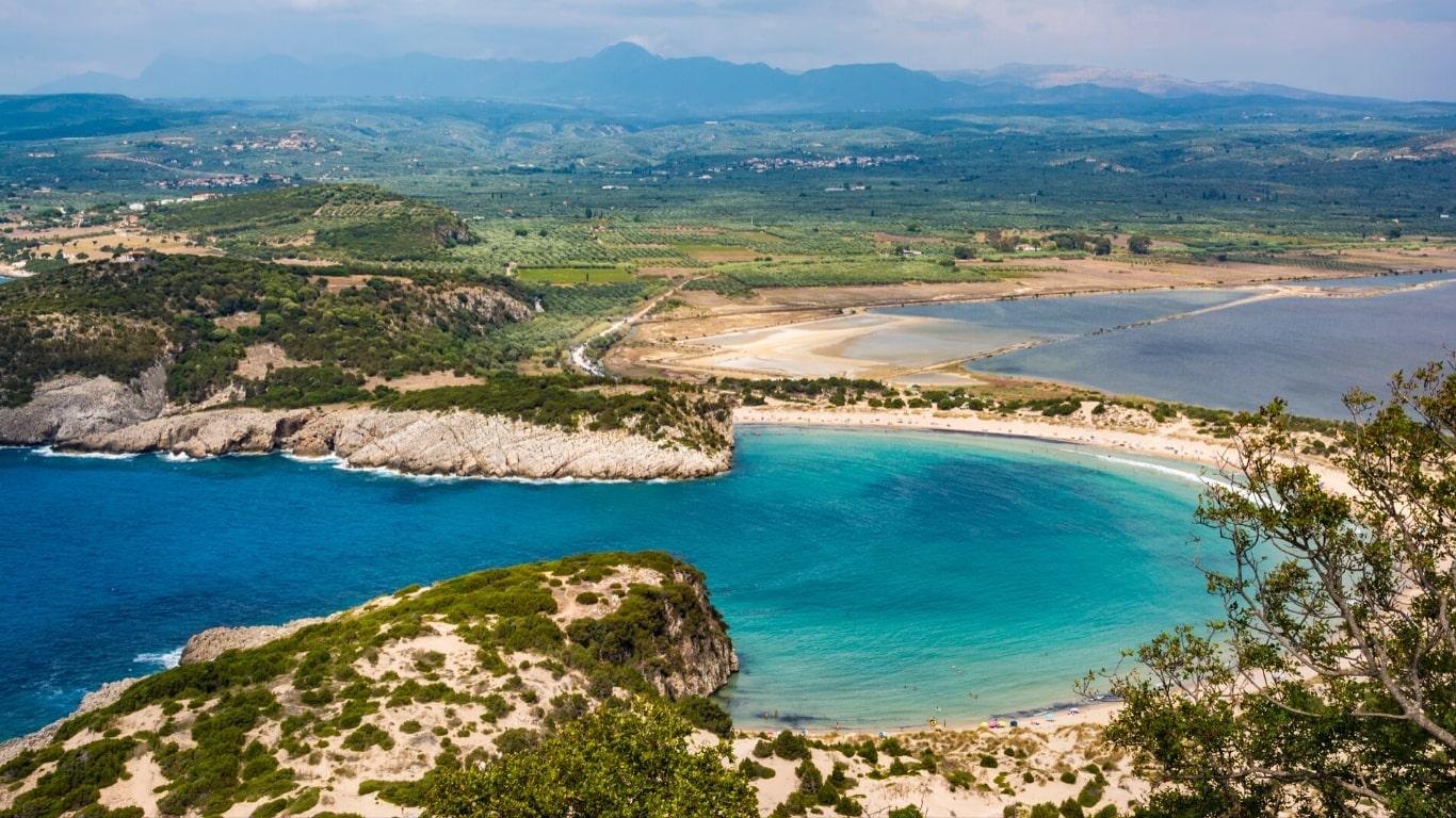 Voidokilia Peloponnese Greece - Greek Beaches You Have to Visit
