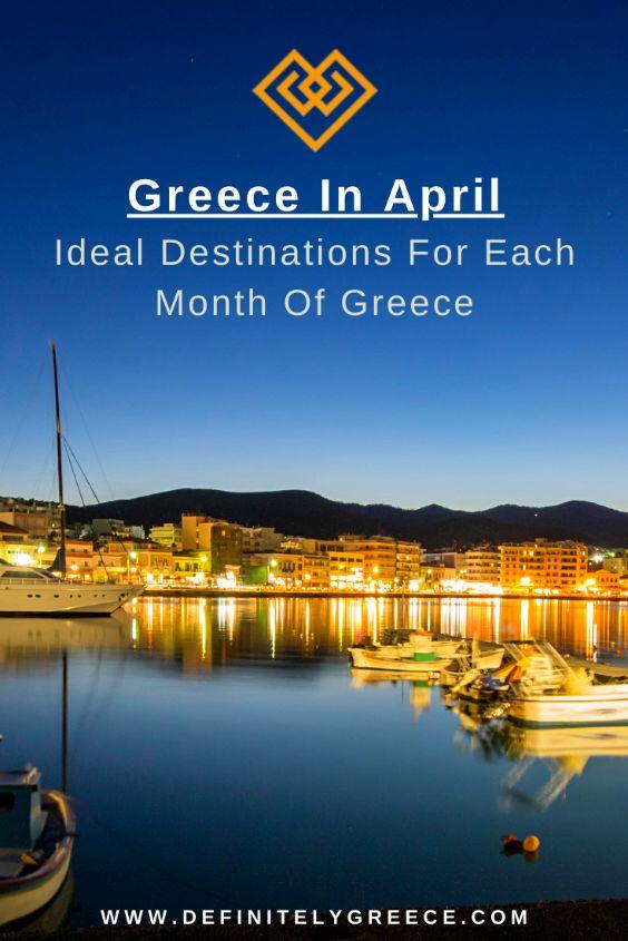 Greece in April