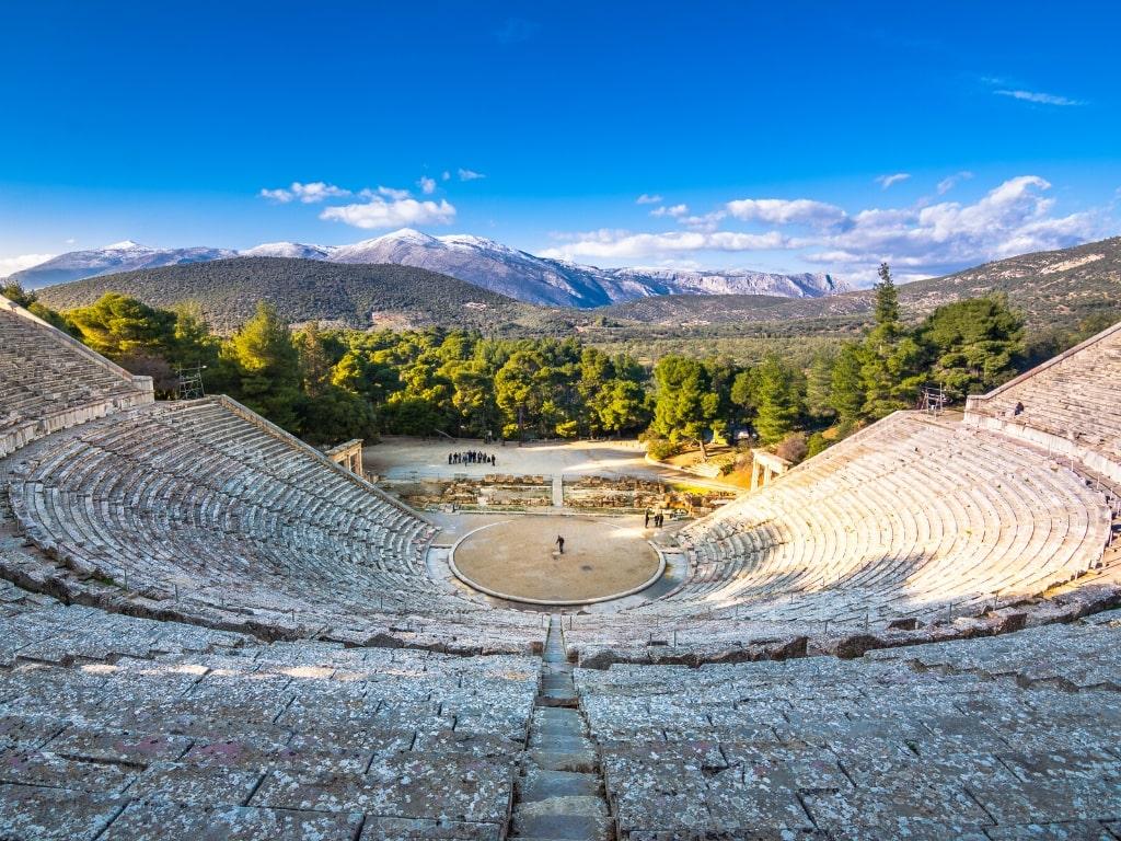 Epidaurus Theatre Mainland Greek Villages