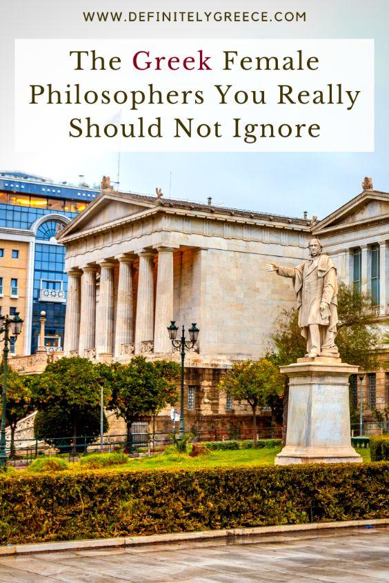 greek female philosophers