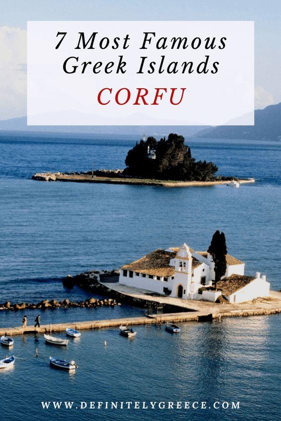 Famous Greek Islands