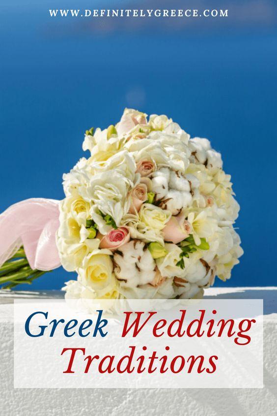 Greek Wedding Traditions Flowers