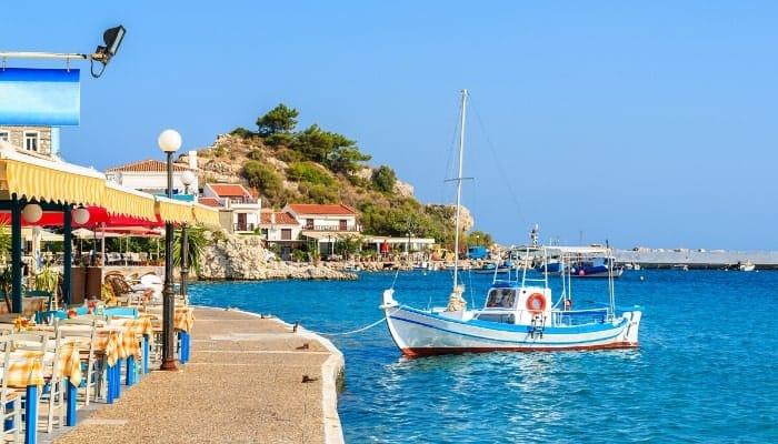 Samos Tavern Definitely Greece