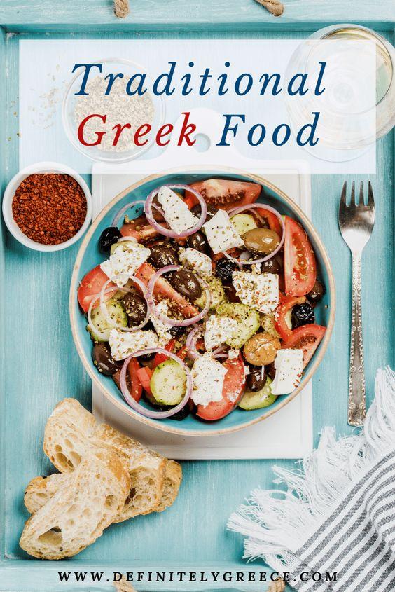 Traditional Food Greece