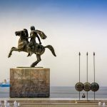 Thessaloniki Alexander the Great Statue Thessaloniki