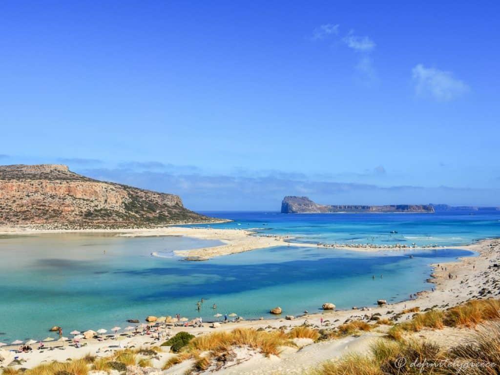 Balos Beach in Crete Island Greece