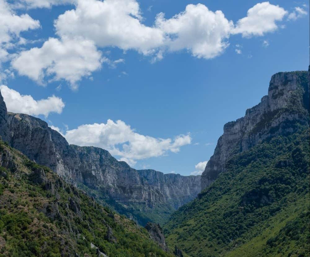 vikos gorge north greece mountains Definitely Greece