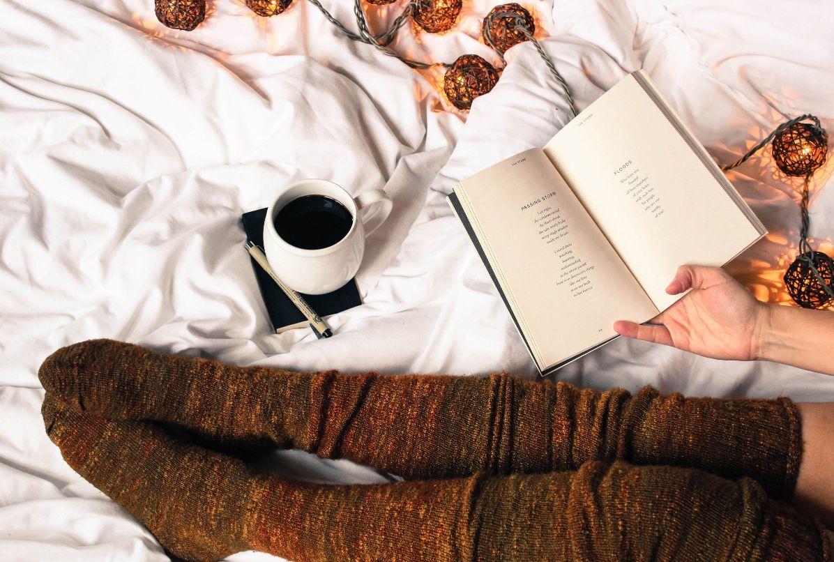 Modern Poets Greece Socks Coffee