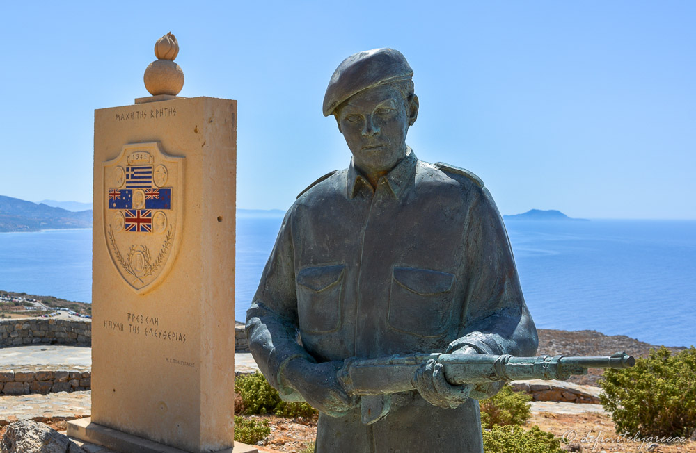 Anzac Soldier Crete Island