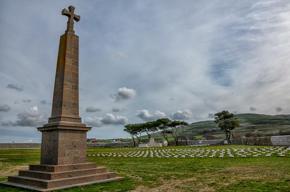 Monument ANZAC Lemnos Island Greece