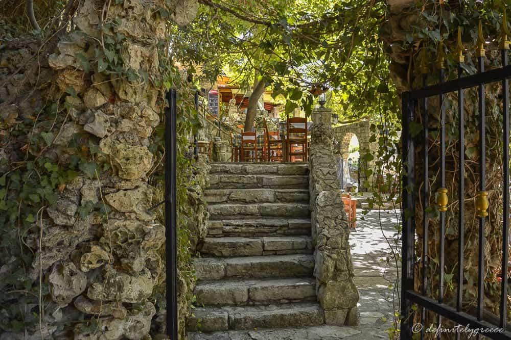 Crete Island Greece Argyroupoli Waterfalls