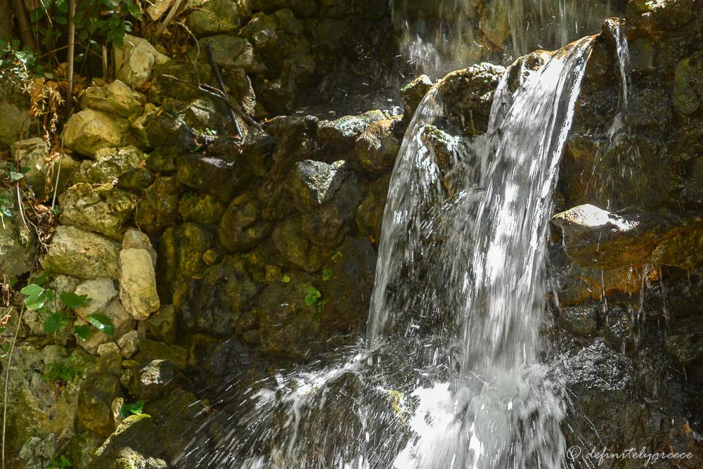 Crete Waterfall Water Village