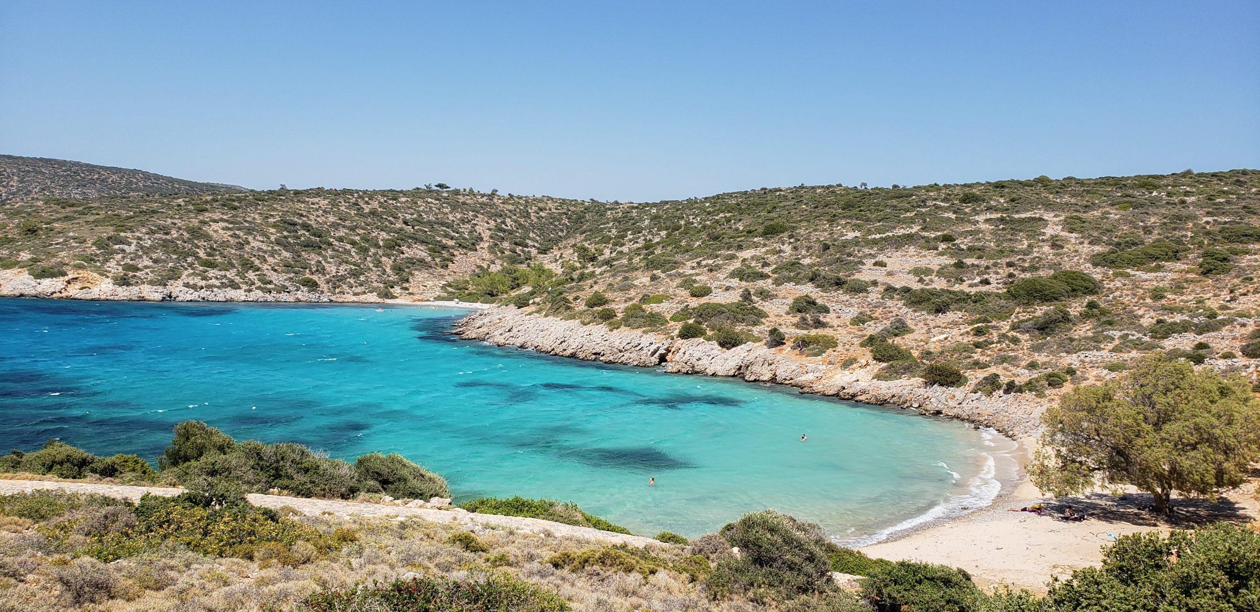 Beach in Chios Island