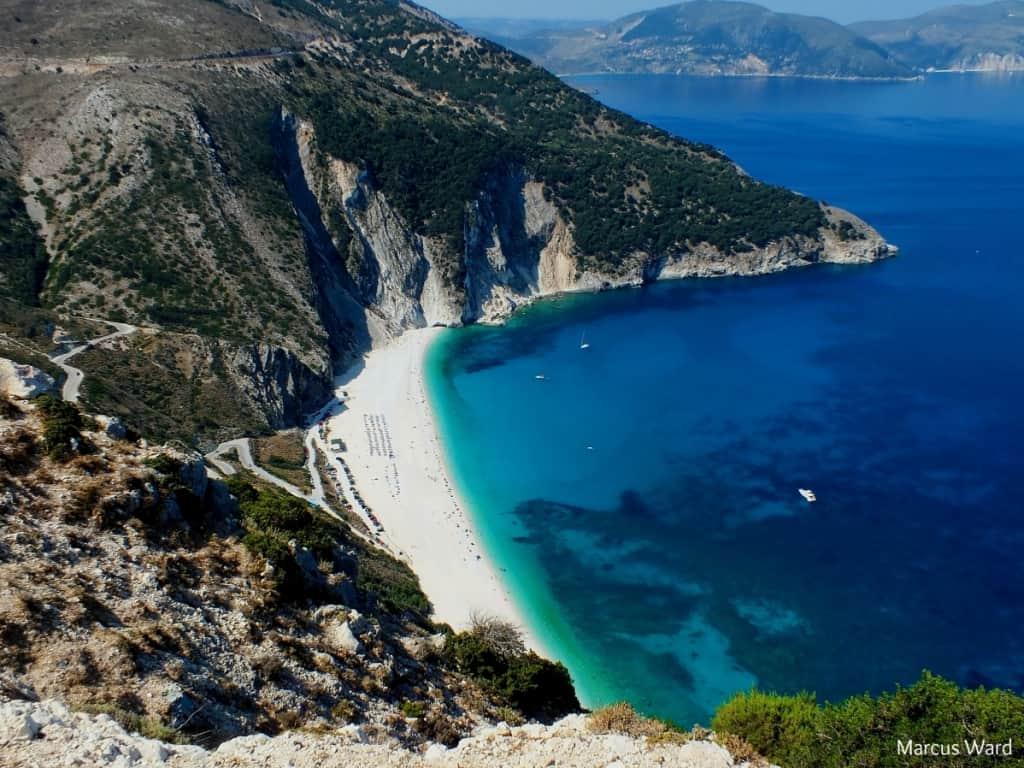 Myrtos Beach Cephalonia - 7 Greek Beaches You Definitely Need To Visit