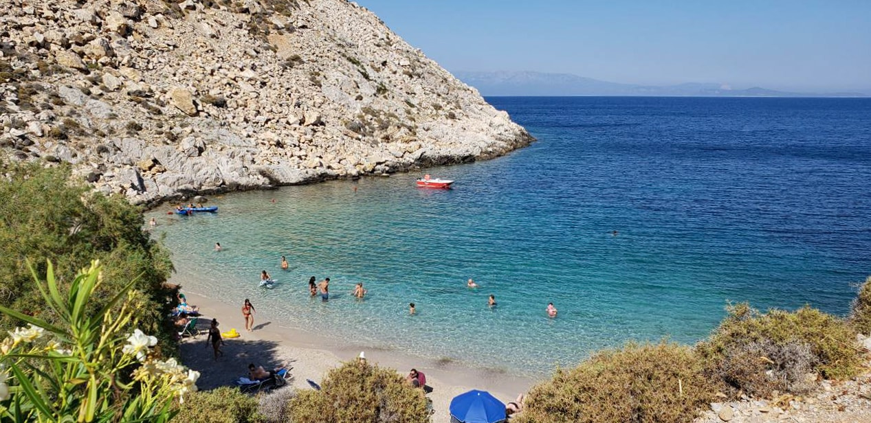 chios island Greece 2018 beach