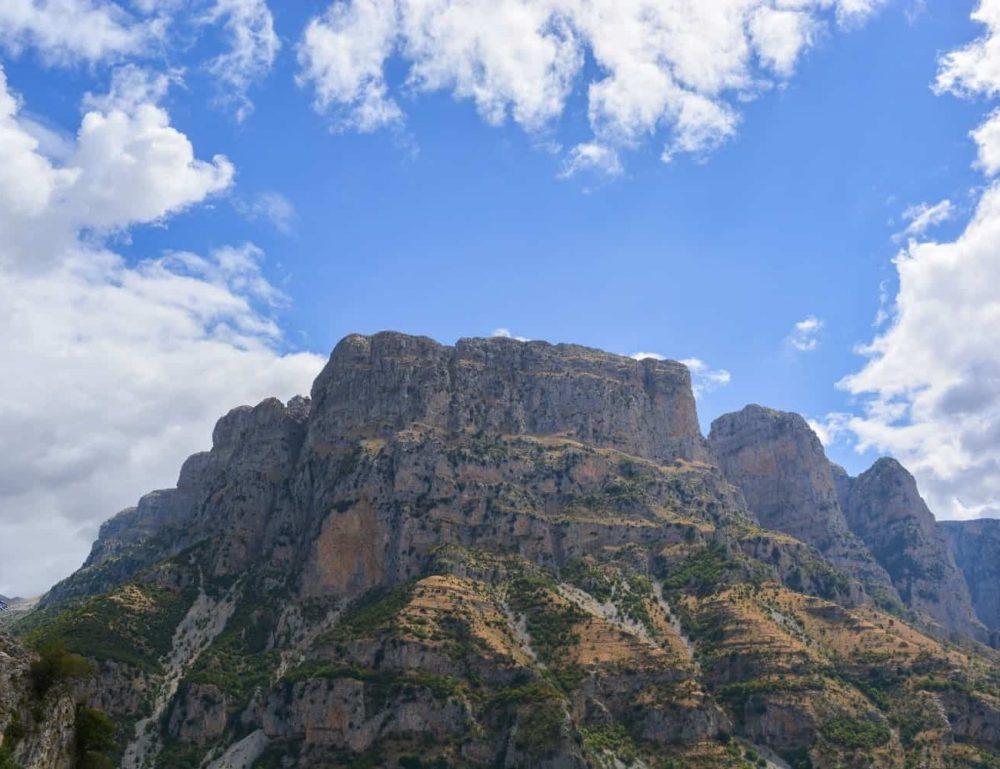 Mountain Pindos in Greece