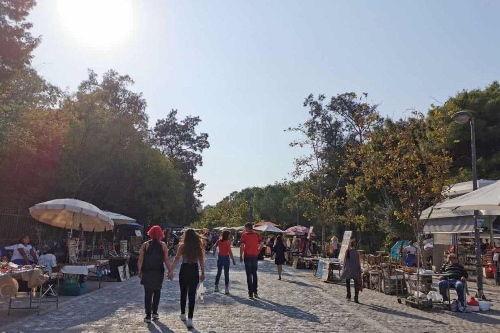 Thissio Market Definitely Greece Athens