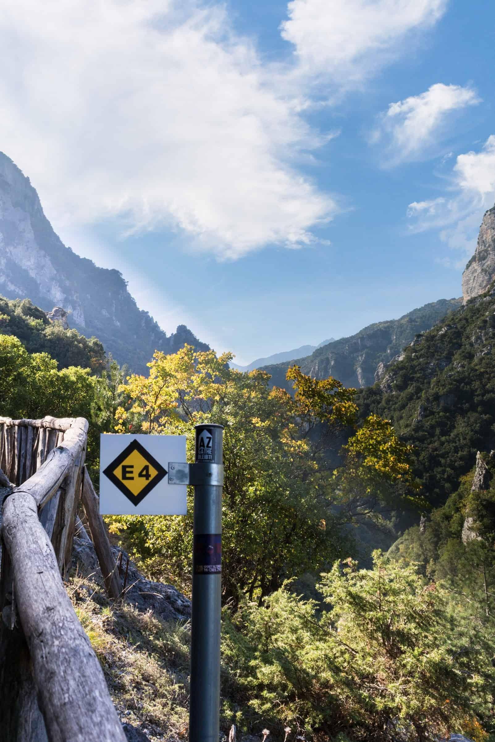 Trekking Olympos Greece