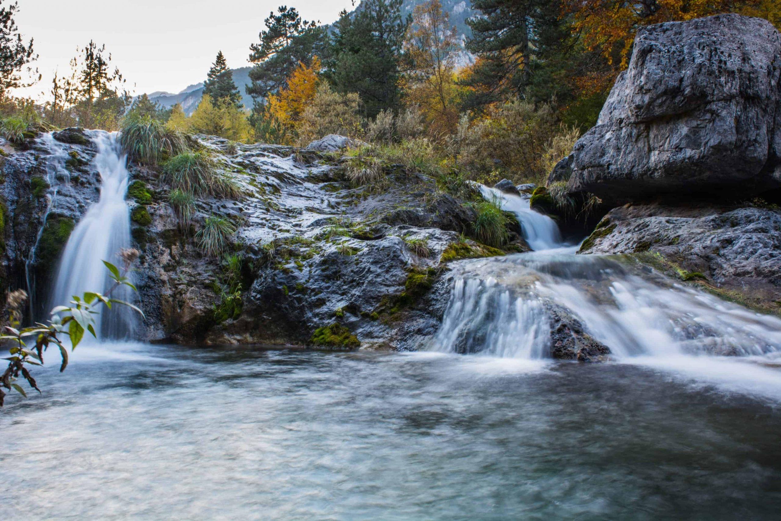 Waterfall Mount Olympos