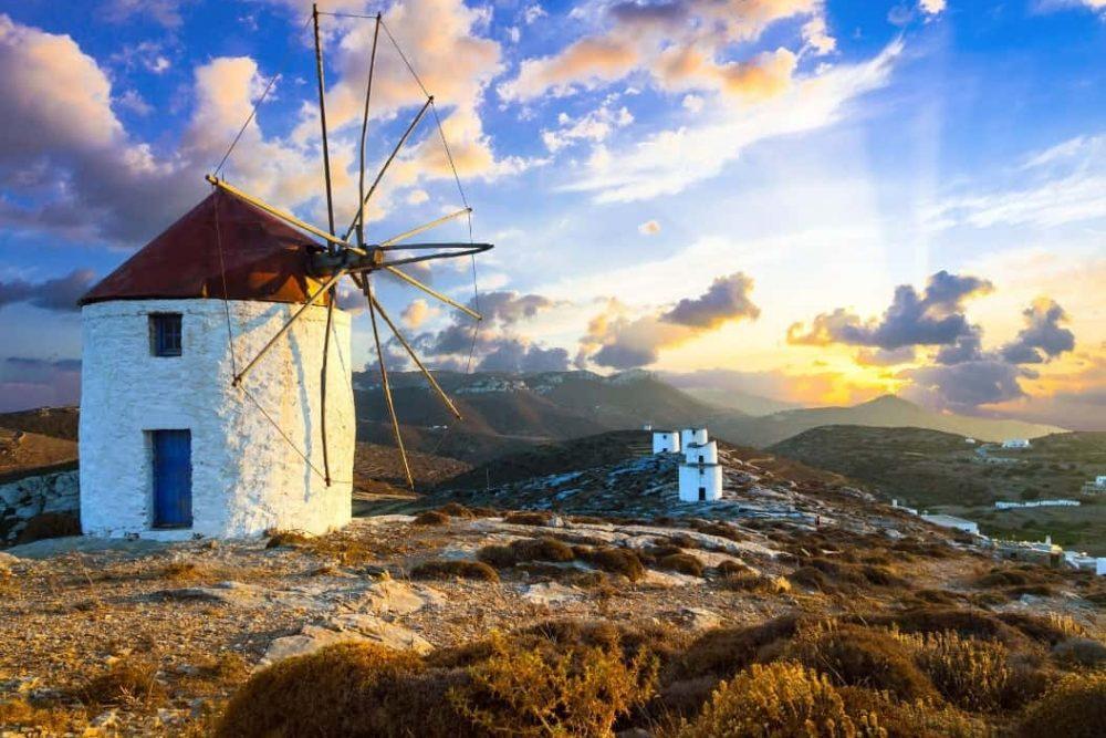 Amorgos Island - Windmills