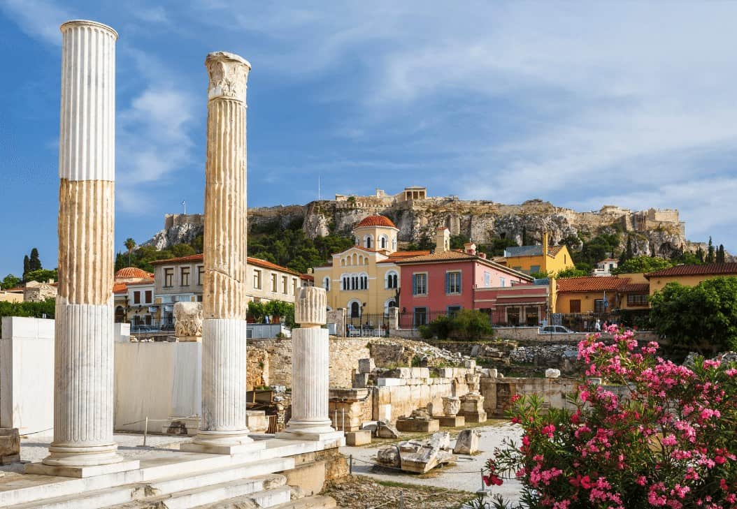 Ancient Agora Sites in Athens