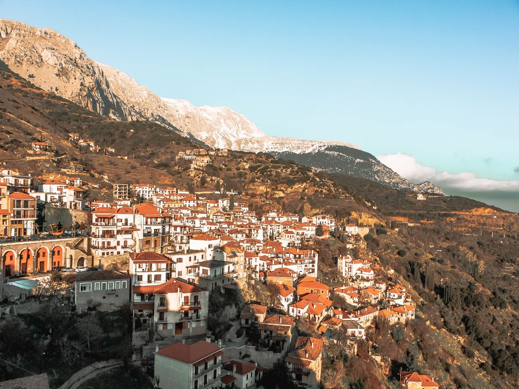 Arahova Village Central Greece