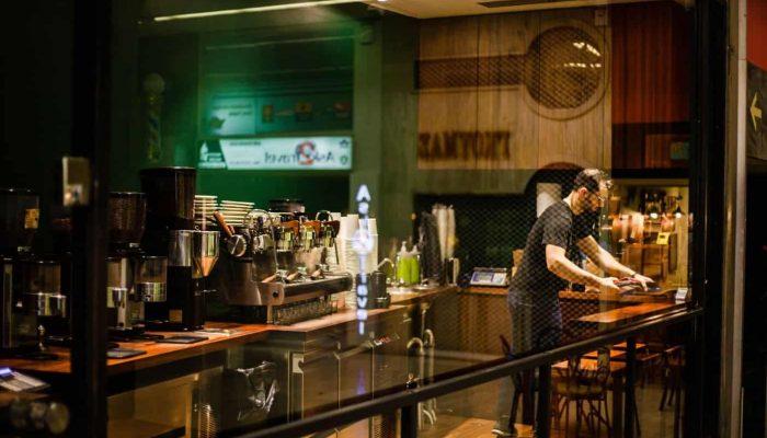 Coffee Kaya takeaway coffee spot in downtown Athens Greece