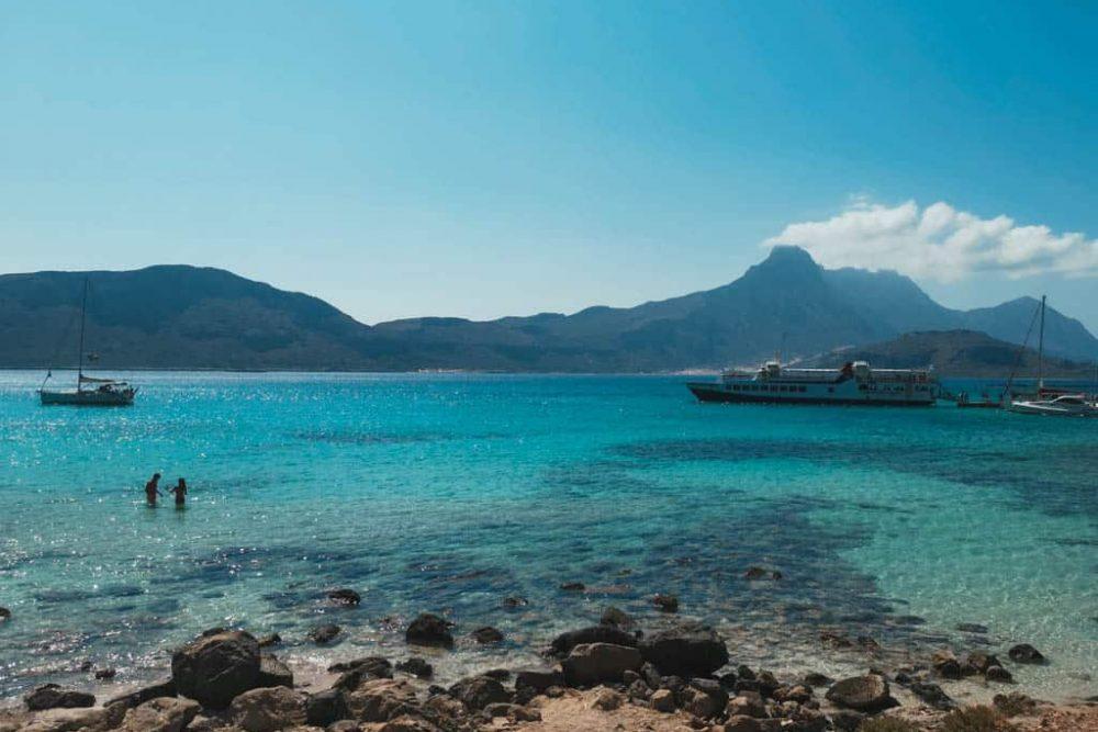 Crete Island Gramvousa Balos Beach
