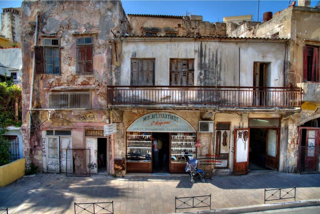 Chania Knife District
