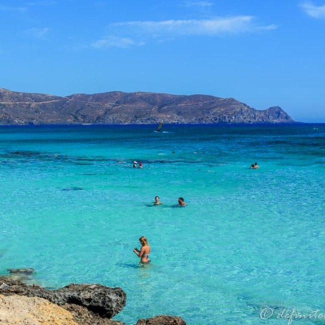 elafonisi Crete Island Greece Beach Holidays Blue Water