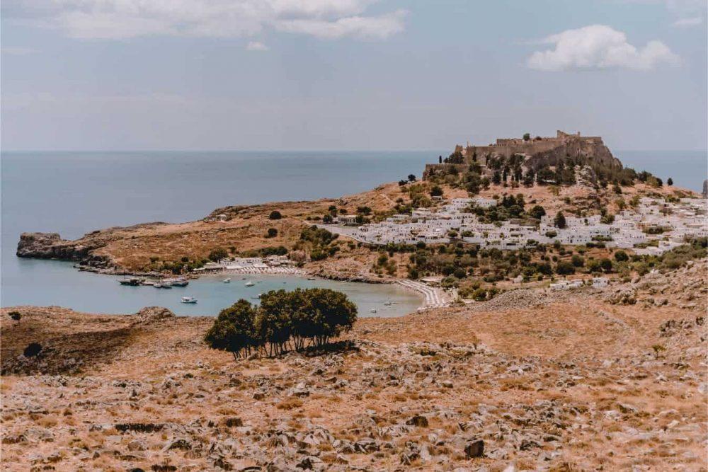 Famous Greek Islands November Lindos Definitely Greece