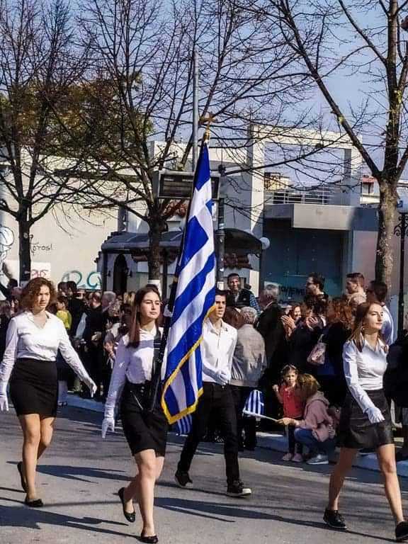 Greek Parade Oxi Day Definitely Greece