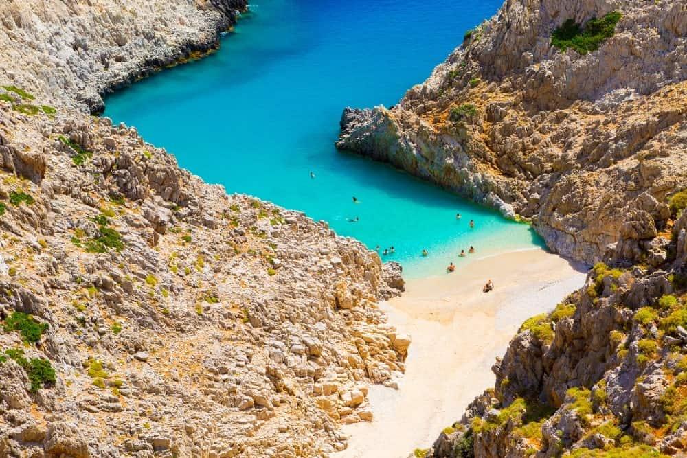 Seitan Limania Crete Island Greece Holiday Destinations