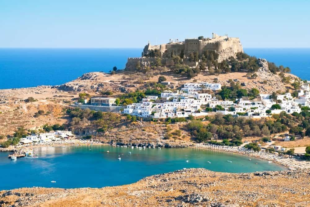 Greek Islands Spring Rhodes Lindos Definitely Greece