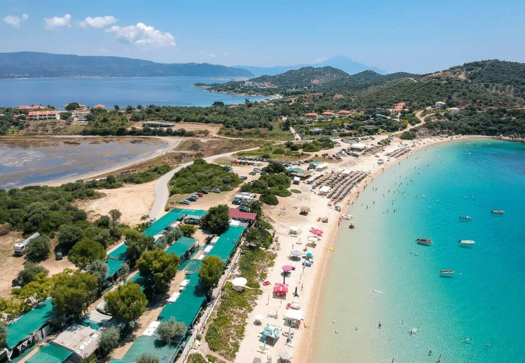 Halkidiki Ammouliani Beach Sand Sun Holidays