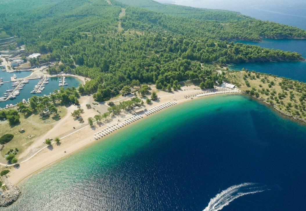 Sithonia Aerial Photography Halkidiki Peninsula Greece