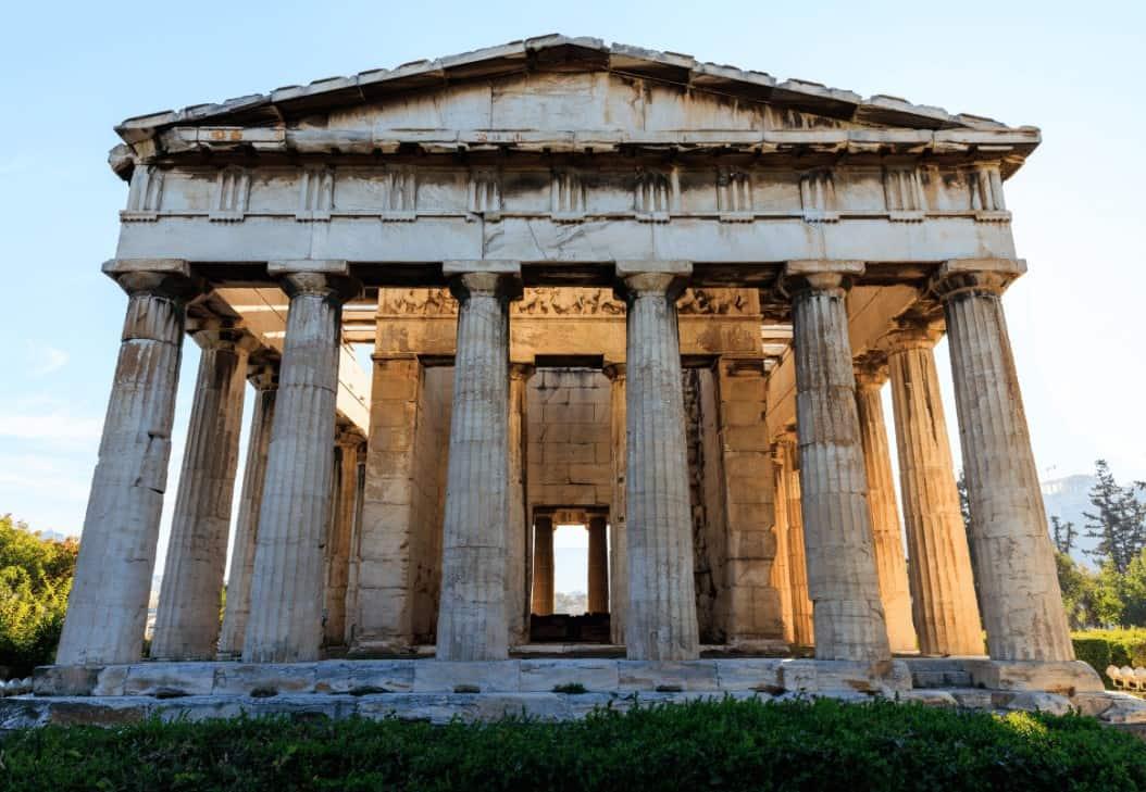 Temple of Hephaestus Agora Athens