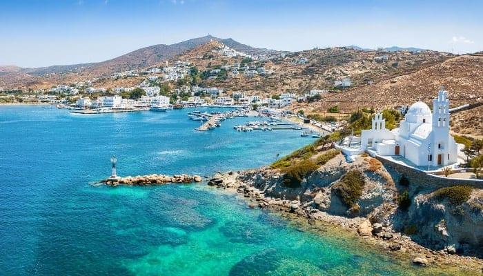Ios Beach Greek Islands