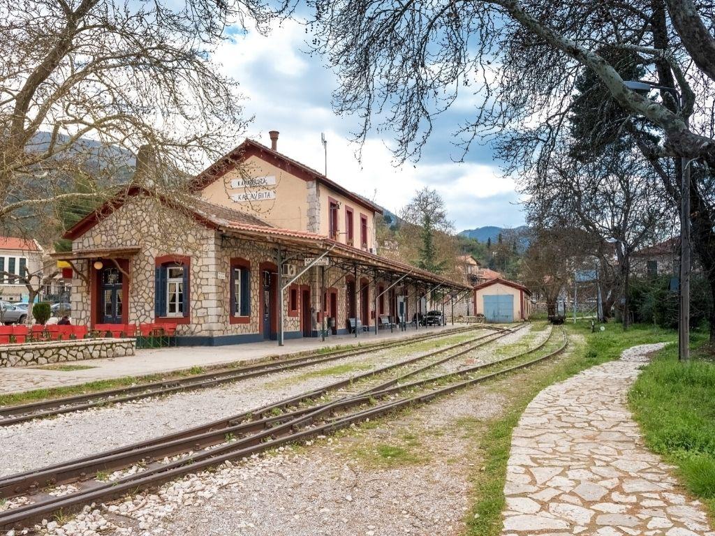 Kalavrita - Greece - Railroad