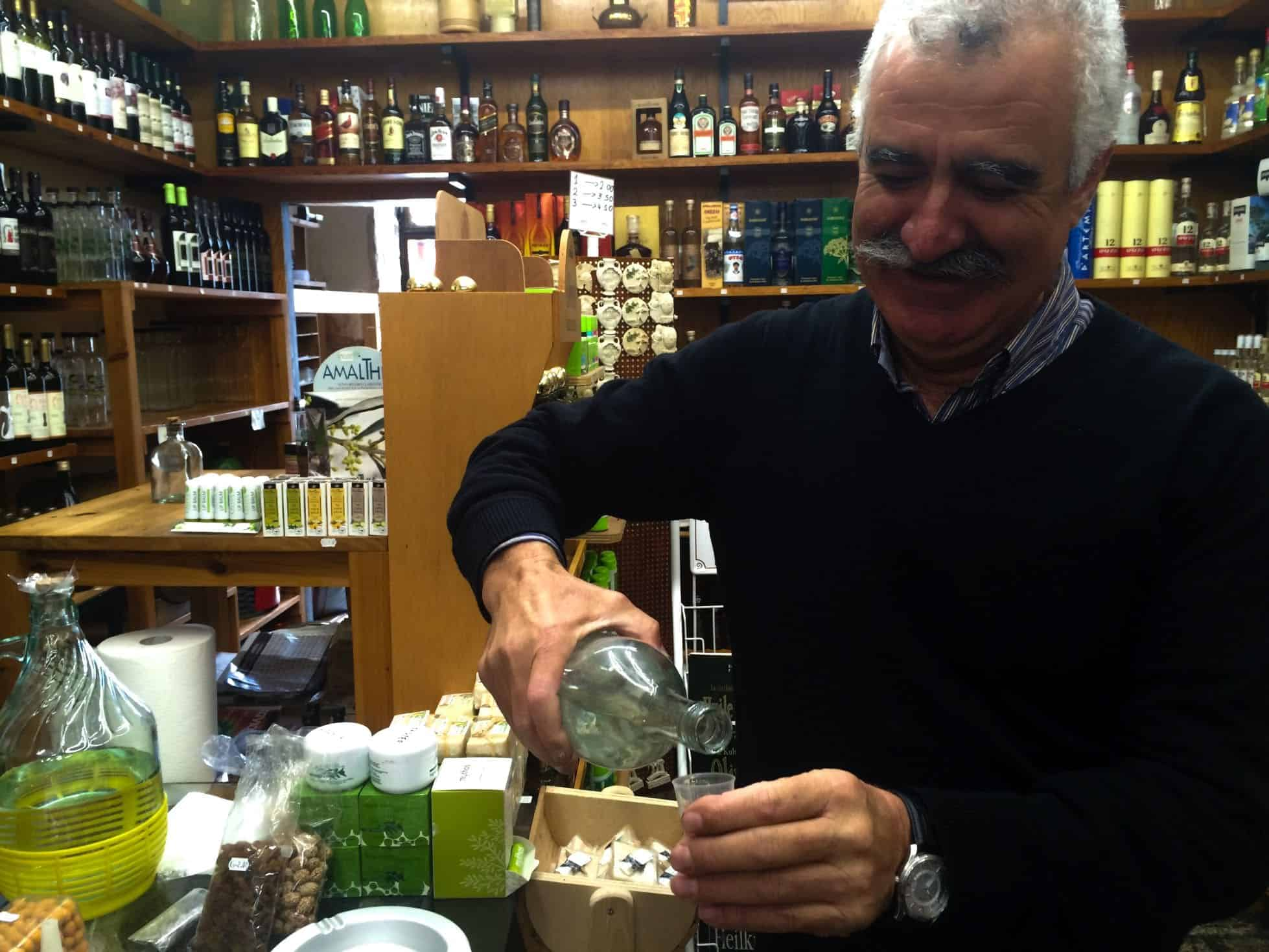 Crete Greece Chania Things To Do Lefteris Raki Chania Market