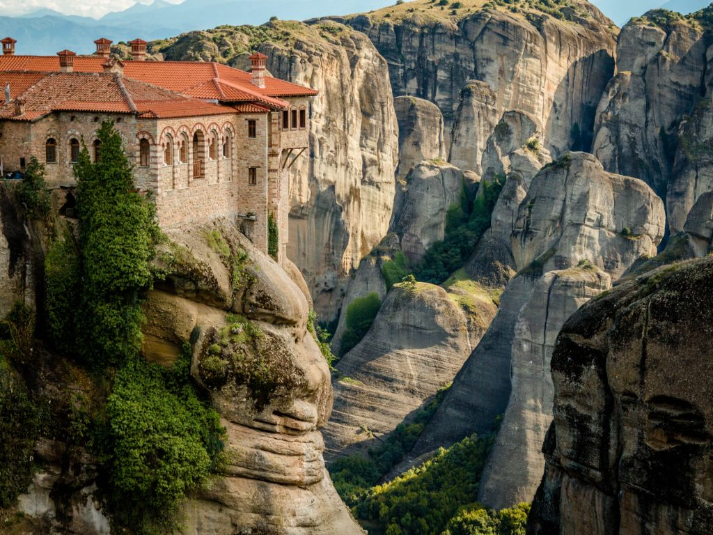 Meteora Unsplash Greece Monastery