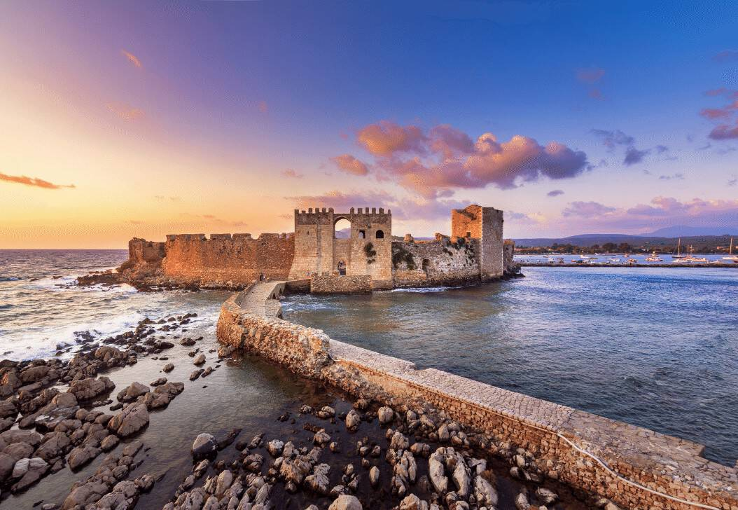Methoni Casteles Peloponnese
