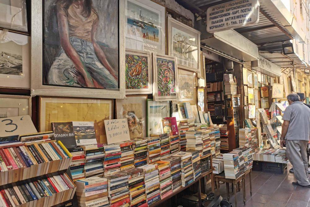 Athens Monastiraki Market Definitely Greece