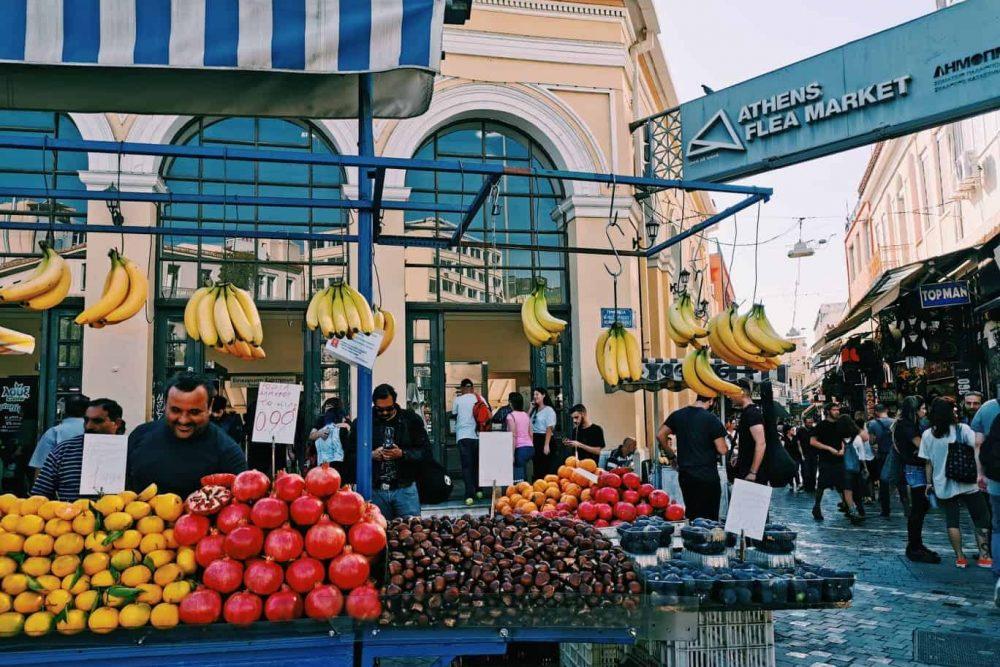Monastiraki Flea Market Definitely Greece