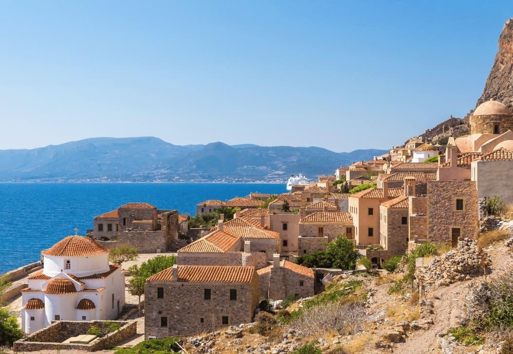 Monemvasia Castles Peloponnese