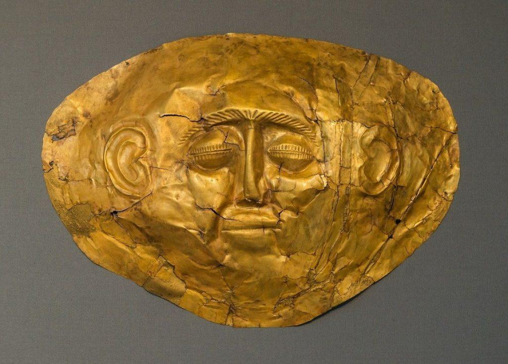 Golden Mask Mycenae