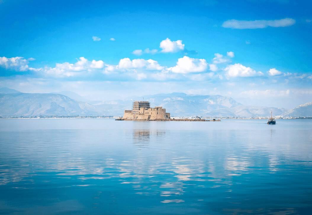 Nafplion Castles Peloponnese