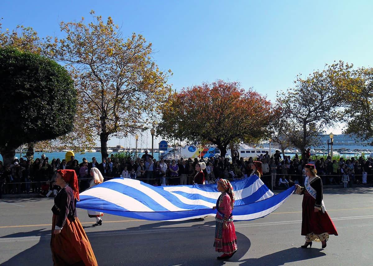 Ochi day Parade Greece